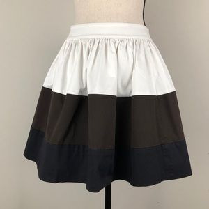 Kate Spade Colorblock Coreen Circle Skirt